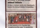 Press Coverage Annual Day- Aureole-2017