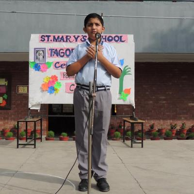 PICTURE GALLERY-INTER CLASS POEM RECITATION COMPETITION ON TAGORE'S DAY